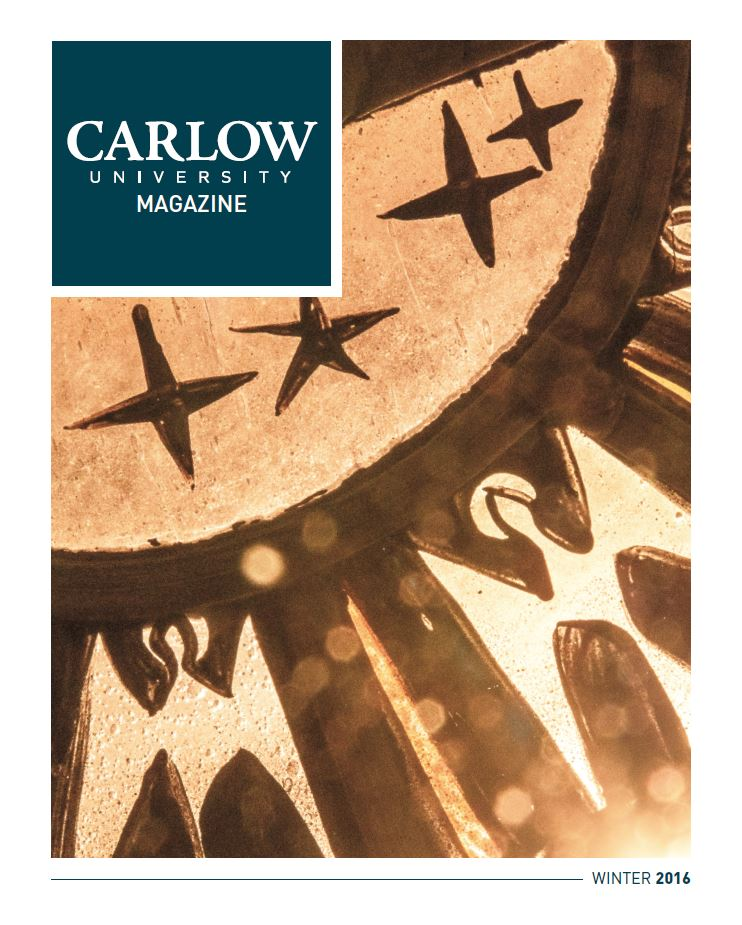 Carlow University Magazine Winter 2016