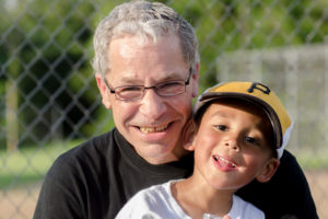 Me and my grandson